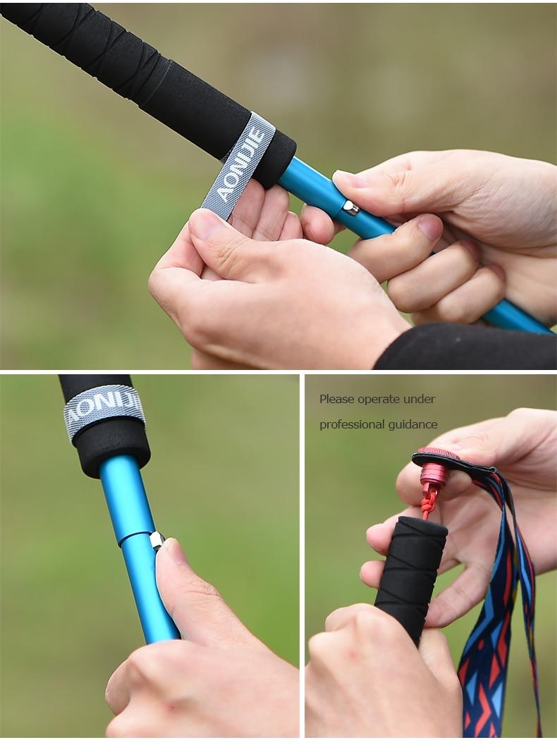 Lightweight, Folding, Collapsible, Trekking Poles