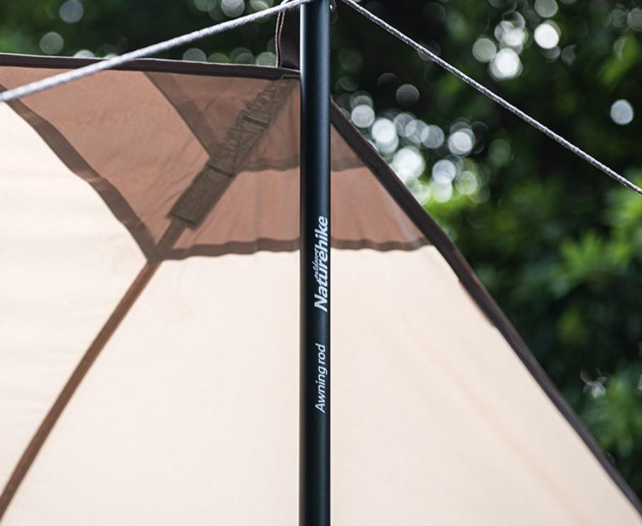 Aluminium Alloy Tent Poles 2 Pcs Set