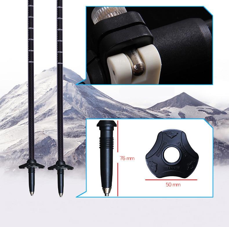 Ultra-light, Carbon Fiber Trekking Poles