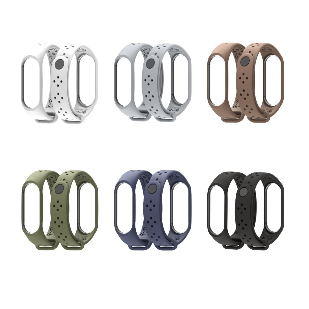 Perforated Silicone Band for Xiaomi Mi Band 3