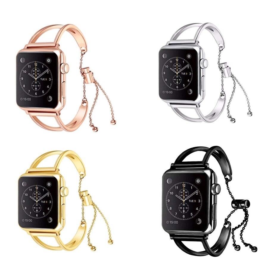 Women's Hollow Bracelet Band for Apple Watch