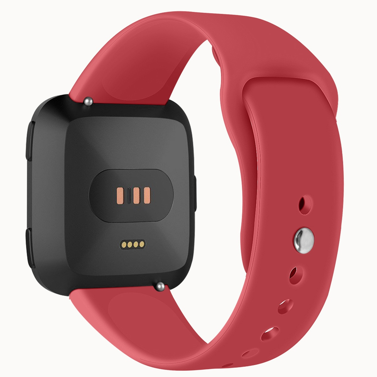 Solid Color Silicone Band for FitBit Versa