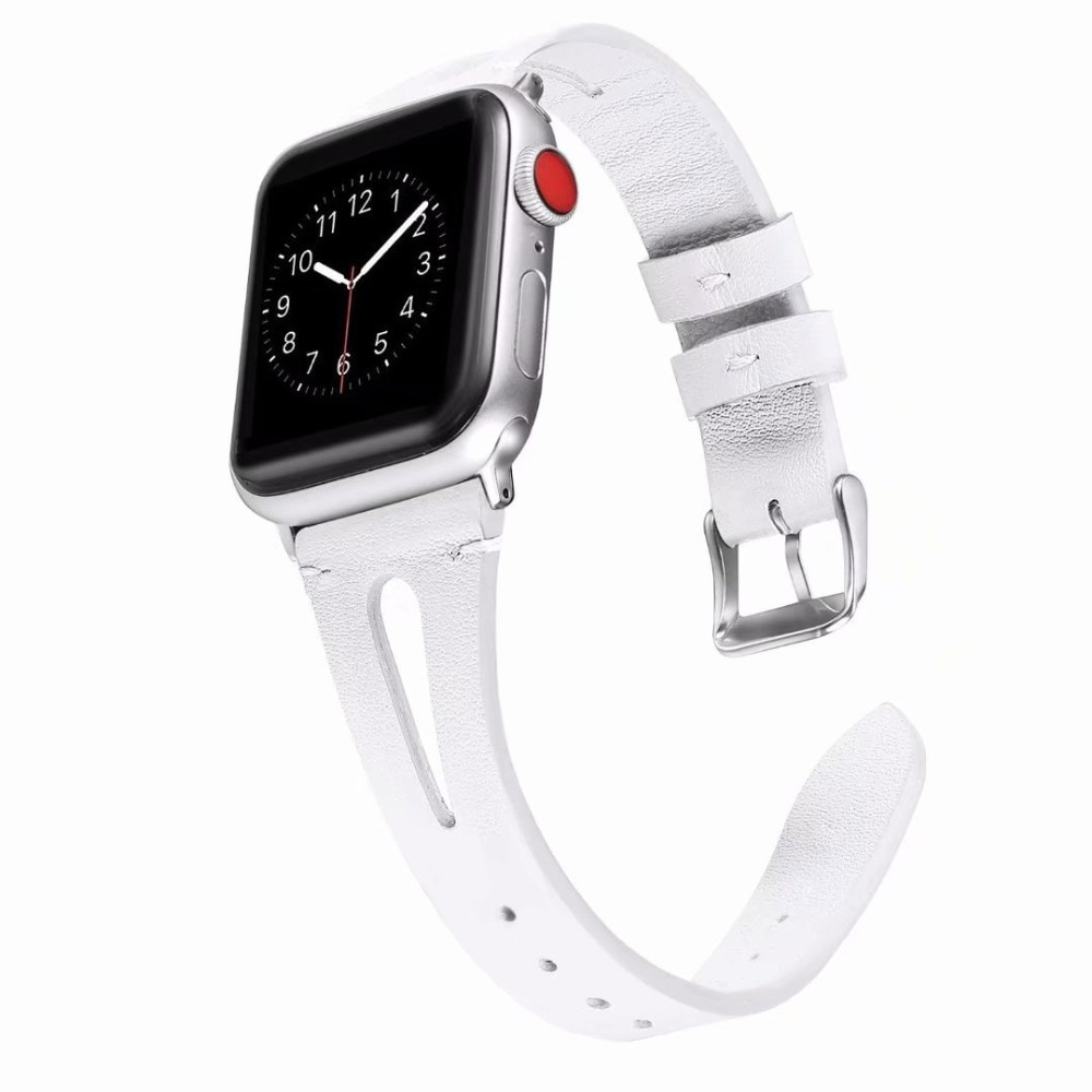 Breathing Leather Band for Apple Watch