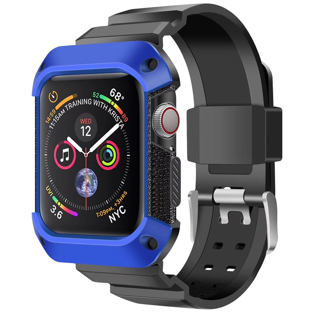 Protective Silicone Case Band for Apple Watch