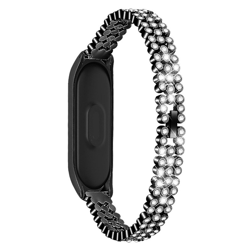 Women's Crystal Band for Xiaomi Mi Band 4