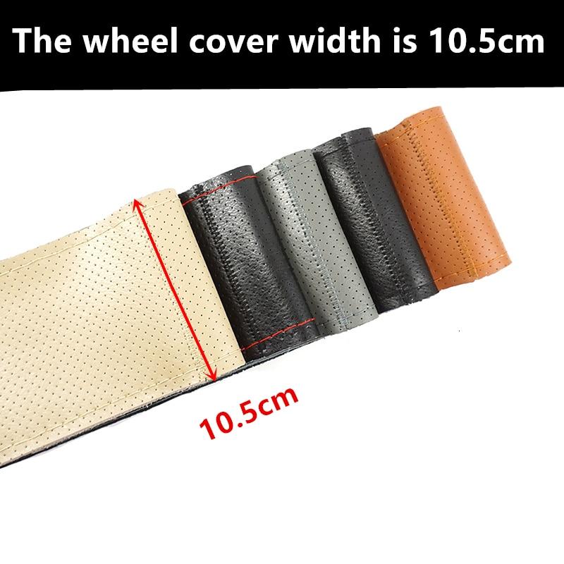 Genuine Leather Soft Anti Slip Car Wheel Cover