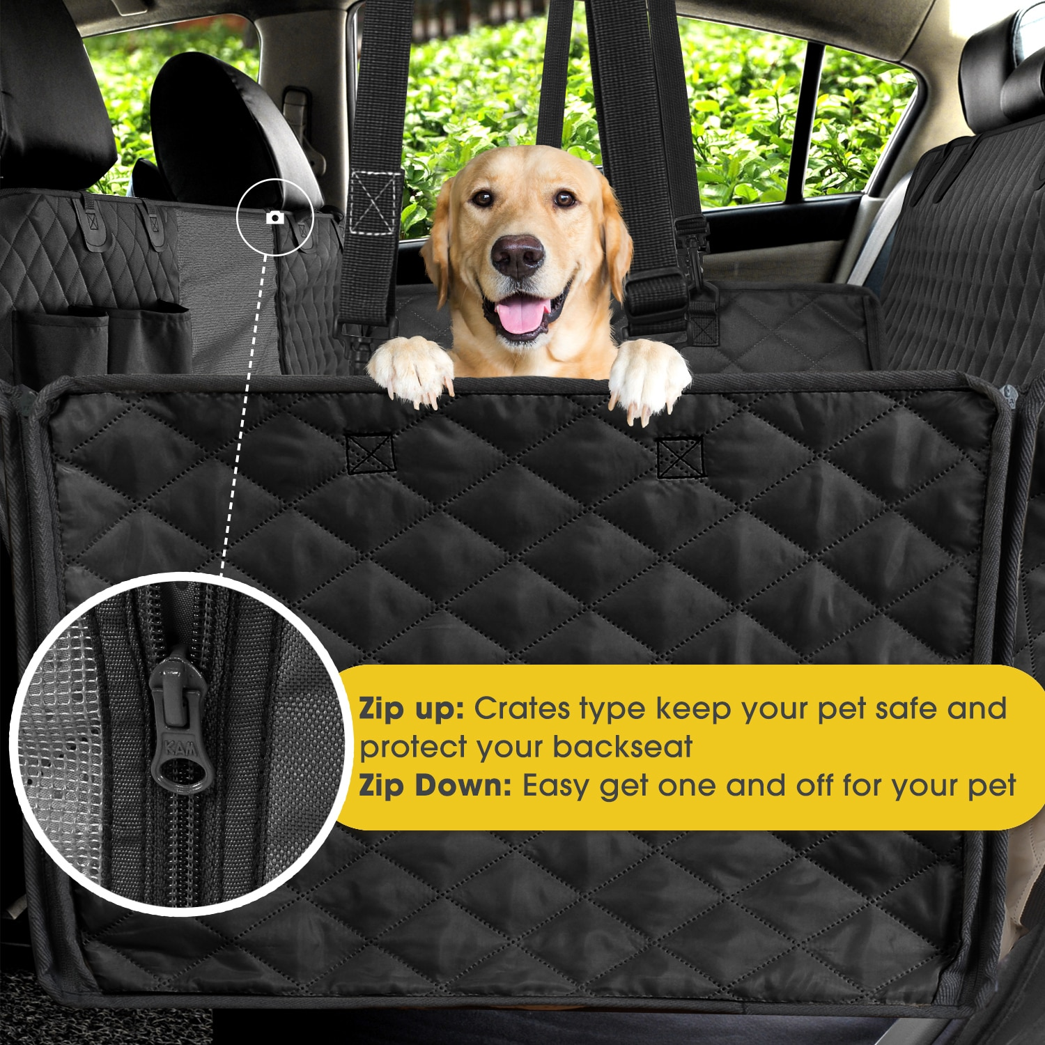 Large Dog Car Seat Cover