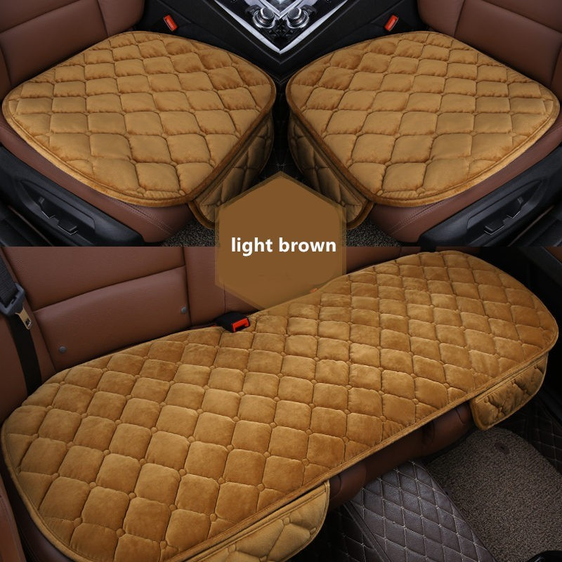 Soft Silk Velvet Car Seat Cover