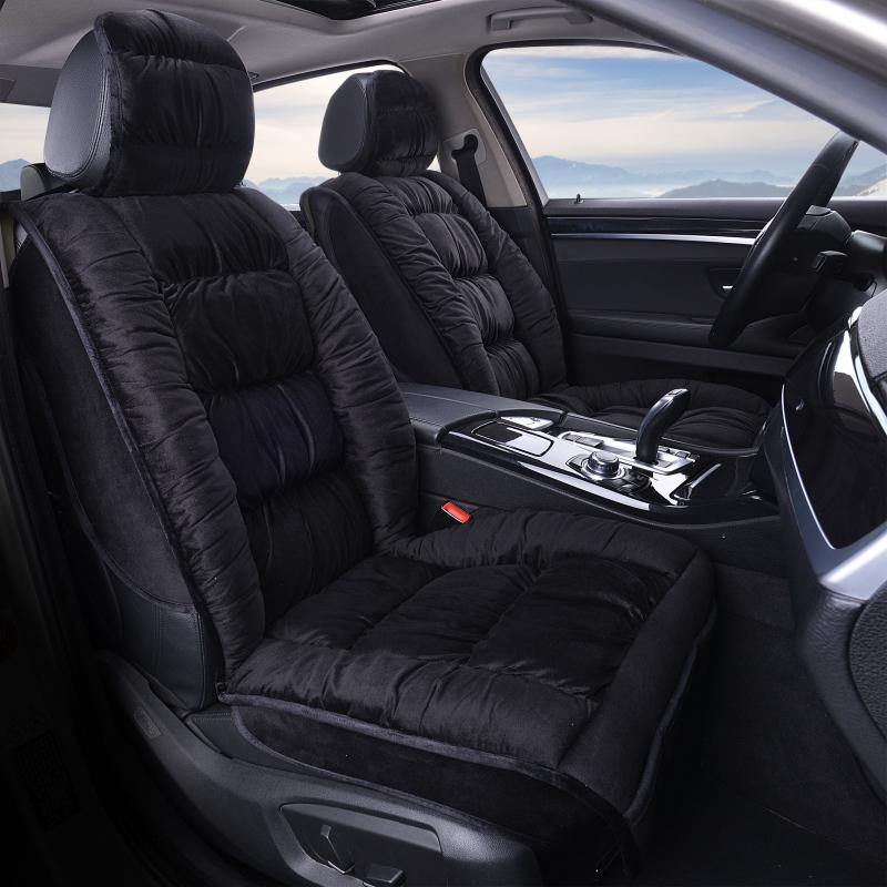 Winter Plush Car Seat Cover