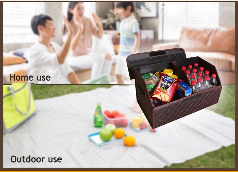 Foldable Organizer Box for Cars
