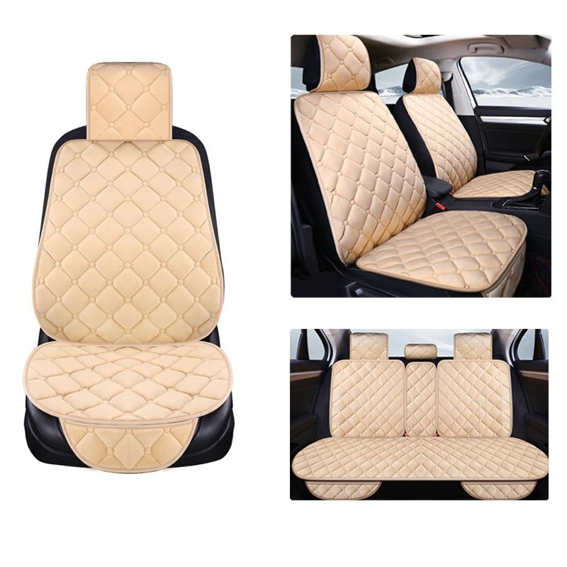 Universal Plush Car Seat Cover
