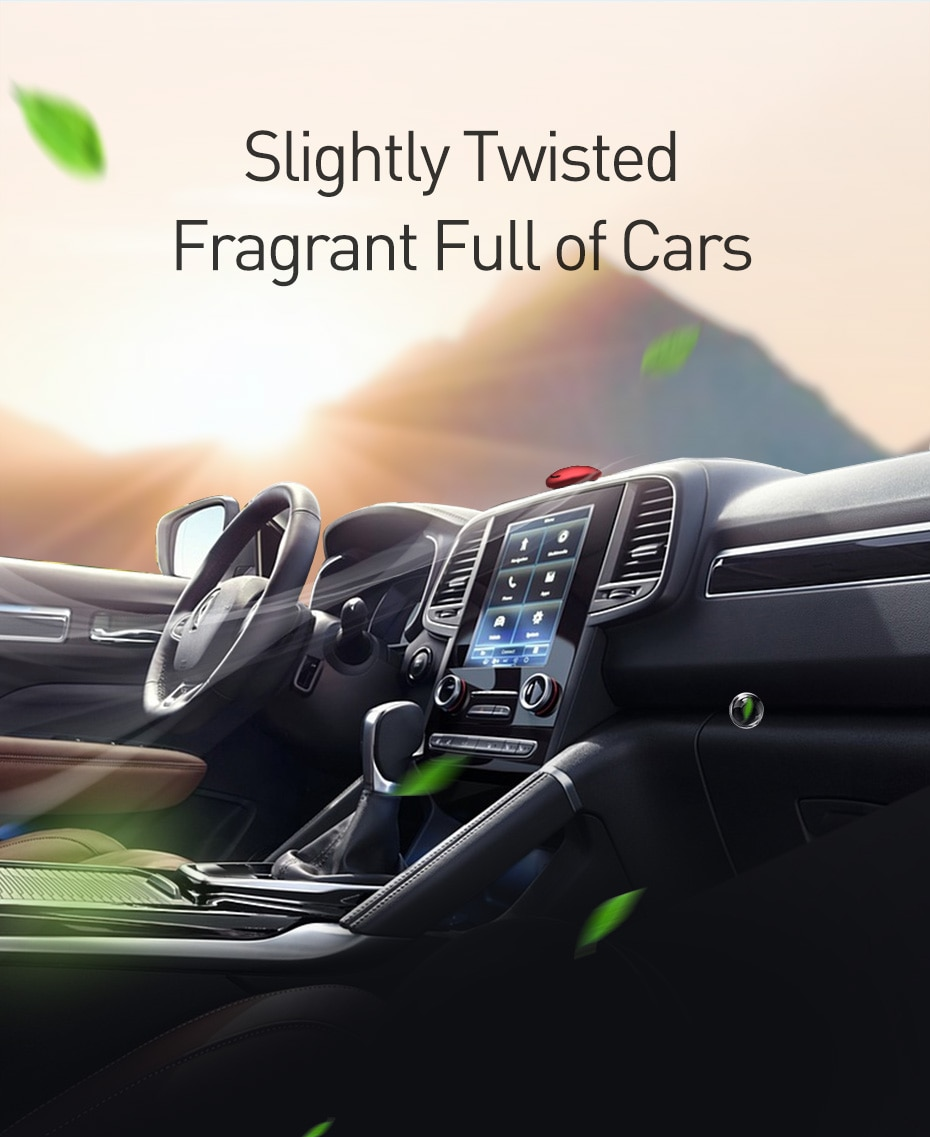 Adjustable Aromatherapy Air Freshener for Cars