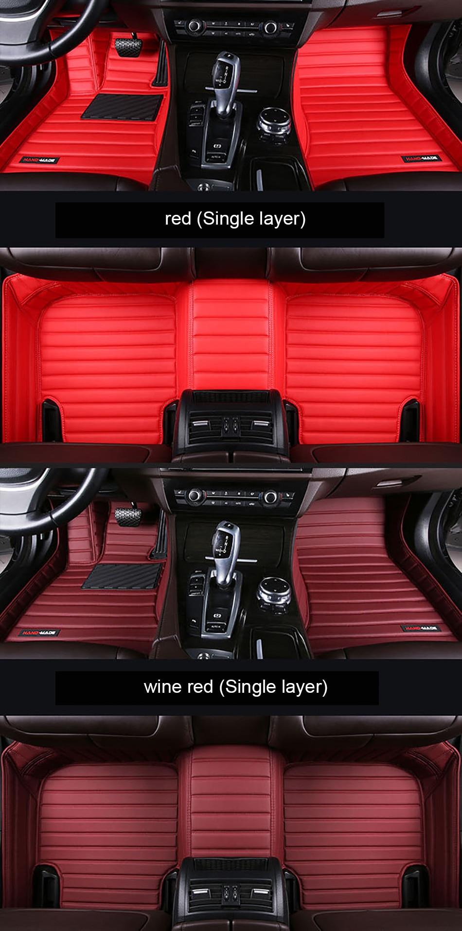 Elegant Car Floor Mats for BMW