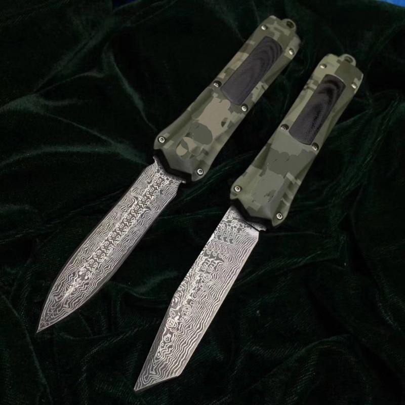 Damascus Steel Survival Knife