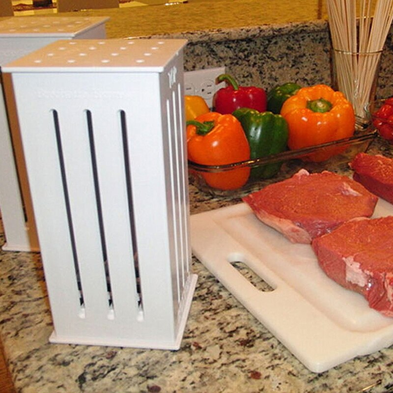 Fast BBQ Skewer Meat Cutter
